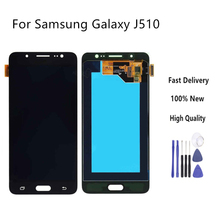 For Samsung Galaxy J5 2016 LCD J510 SM J510F J510FN J510M J510Y J510G Touch Screen Digitizer Assembly Brightness Adjustable смартфон samsung galaxy j5 2016 sm j510fn white