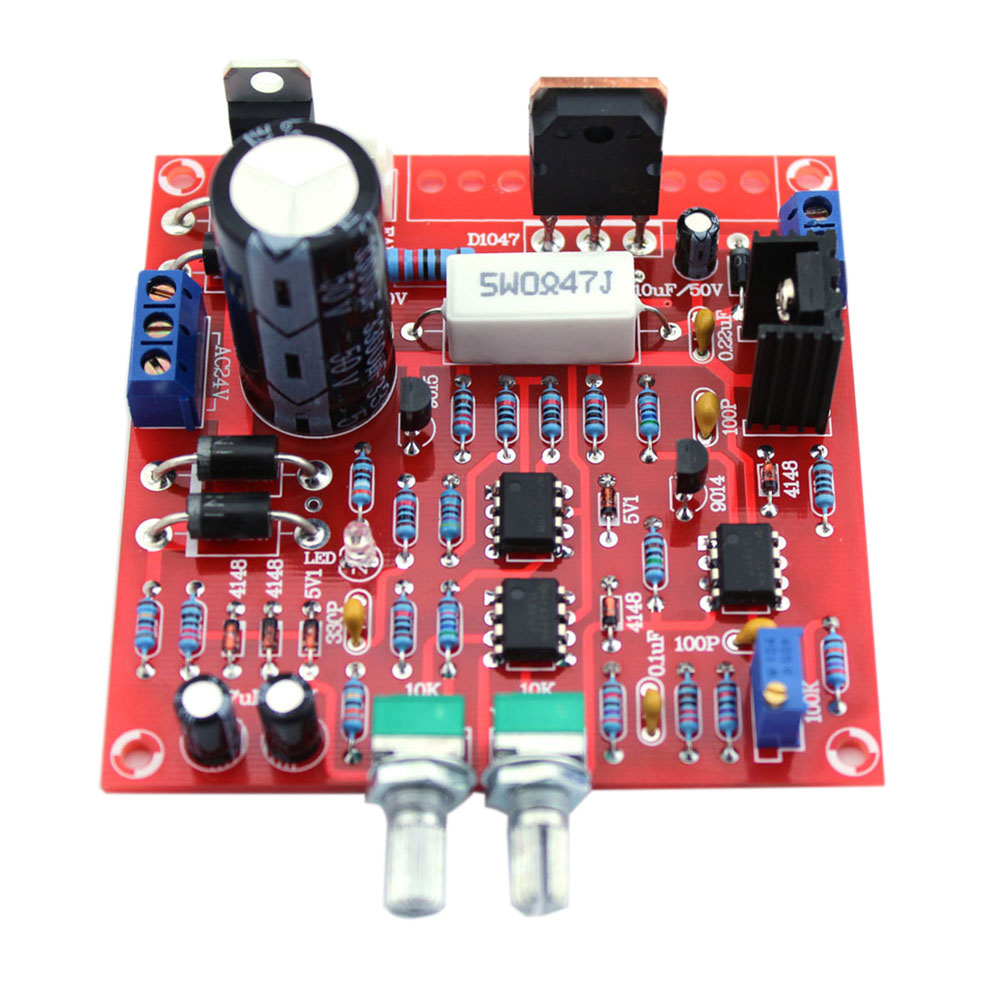 Red 0-30V 2mA-3A Continuously Adjustable DC Regulated Power Supply DIY Kit for School Education Lab