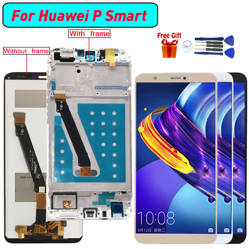 For Huawei P smart Display LCD Screen Digitizer Assembly For Huawei FIG-LX1 FIG-LA1 FIG-LX2 FIG-LX3 Enjoy 7S display screen