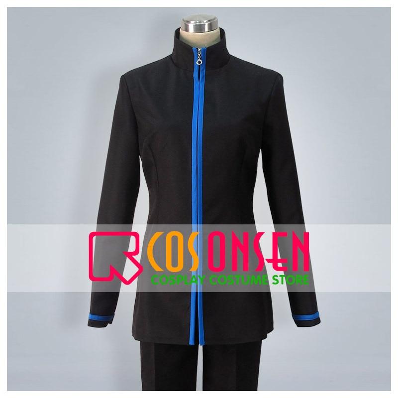 COSPLAYONSEN Kuroko's Basketball Seirin High School Uniform Cosplay Costume Black Color Set Any Size