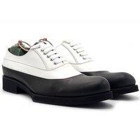 На толстой платформе Офисные Формальные Мужские модельные туфли из натуральной кожи белый социальных мужской обуви Sapato Masculino мужская обувь