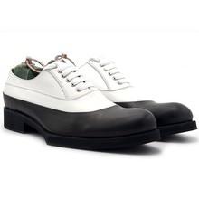 Thick Platform Office Formal Men Dress Shoes Genuine Leather White Social  Male Shoe Sapato Masculino Male 4d38914baecf