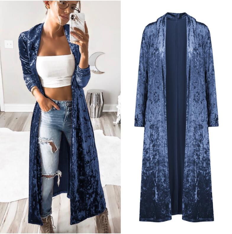 HTB1hnBlaZfrK1Rjy1Xdq6yemFXaQ Semfri Long Cardigan Winter Autumn Women Fashion Loose Open Stitch Coat Solid Streetwear 2019 Fashion Jacket Korean Stytytle