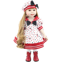 2016 New Design High Quality American 18 Inch Girl Doll Full Vinyl Collectible Smiling Baby Toys