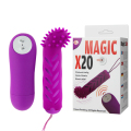 Baile Vibrador Sex Toy Product (bi-014131-2),20 Types Of Vibrating Model, Remote Controlling Battery Box For ,remote