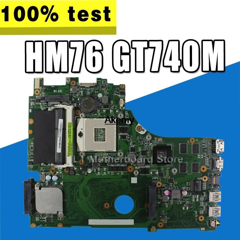 X750VB  Laptop motherboard for ASUS X750VB  X750V Test original mainboard HM76 GT740M graphics cardX750VB  Laptop motherboard for ASUS X750VB  X750V Test original mainboard HM76 GT740M graphics card