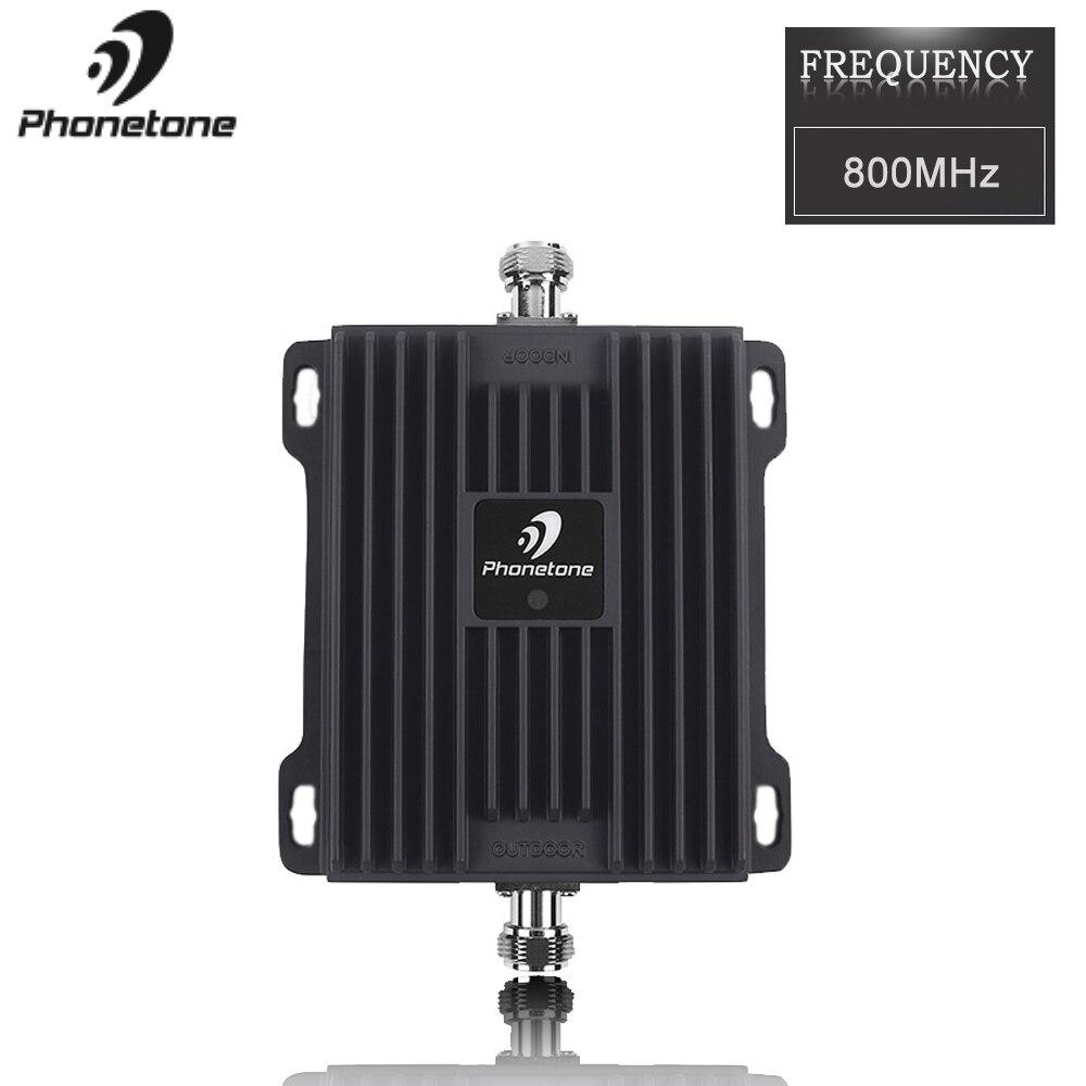 Mobile répéteur de Signal 4G Répéteur 800 MHz Amplificateur Cellulaire 65dB Téléphone Signal Booster Mobile Réseau Booster 4G LTE Amplificateur