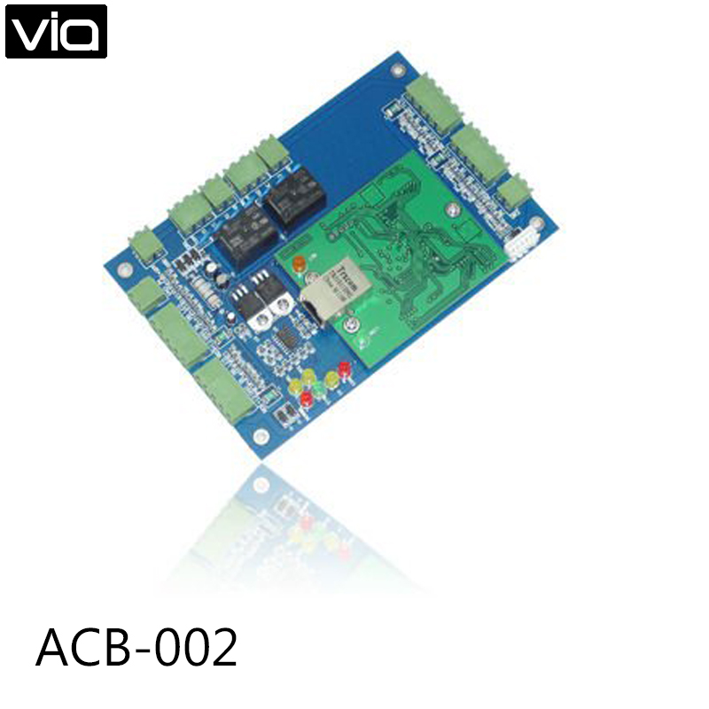 ACB-002 Free Shipping WEB TCP IP Access Control Board with Illegal Entry Alarm function free shipping 10pcs 411450 002 411450 003 28