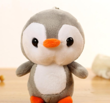 2019 Little Cute 10cm Plush Penguin Pet Figurine Approx Small Penguin Little Plush Stuffed Toys Gift Baby Toys 4Colors(China)