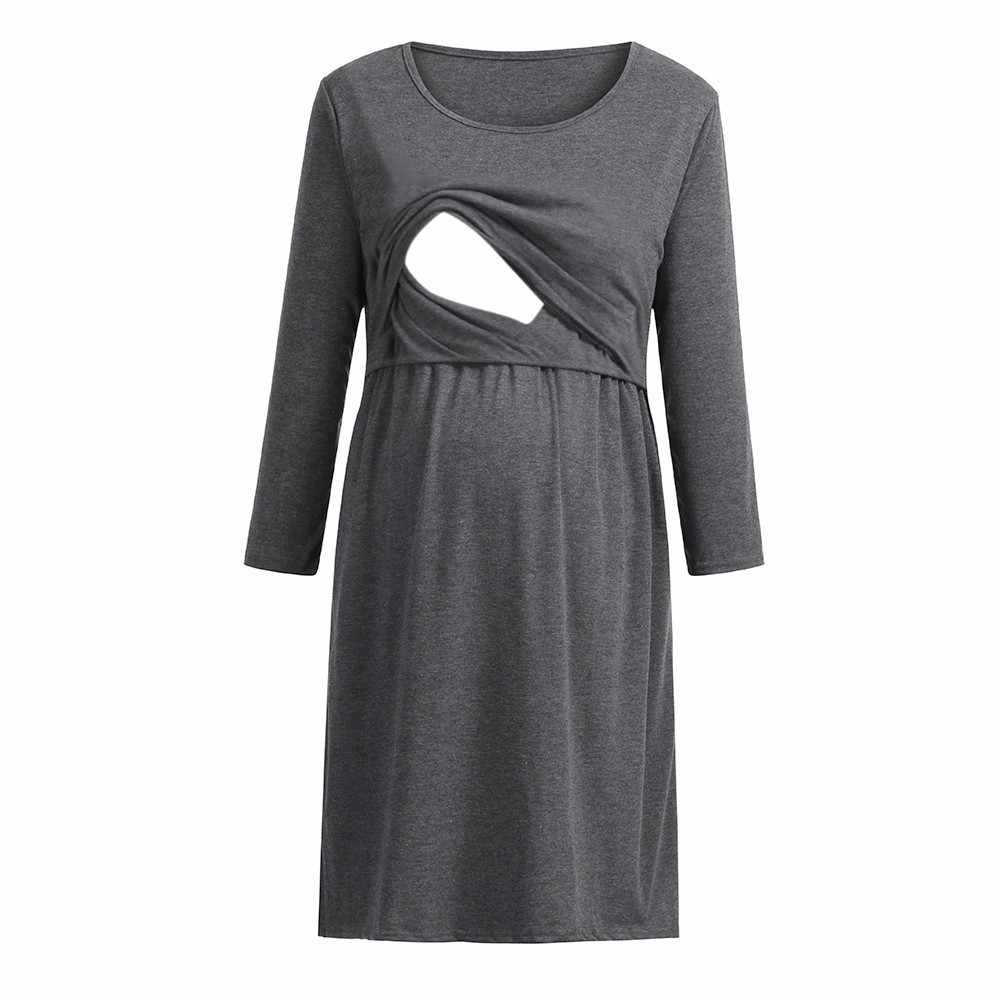 Detail Feedback Questions about Nursing Dress Women Elegant Long ...