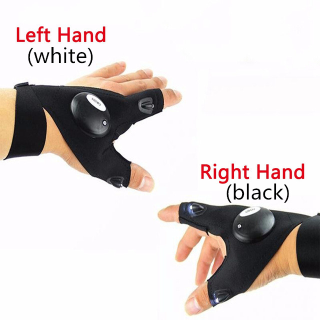 Night Waterproof Fishing Glove with High bright LED Light Rescue Tools Outdoor Gear breathable Practical durable 20