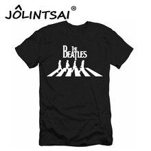 2017 Summer Fashion Men T-shirt Clothing The Beatles Geek Man Hip Hop Rock T shirt Cotton Brand Male Tshirt for Men Tees Shirt