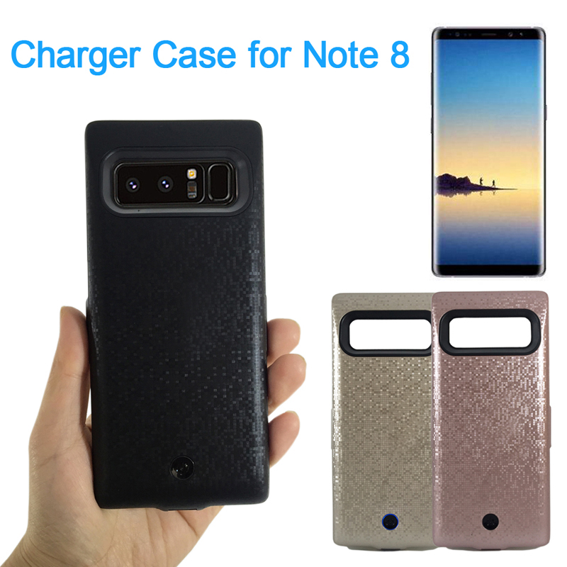 New Battery Case 7000mAh for samsung Note 8 Backup Battery Charging Power Case Portable External Charge Phone Case