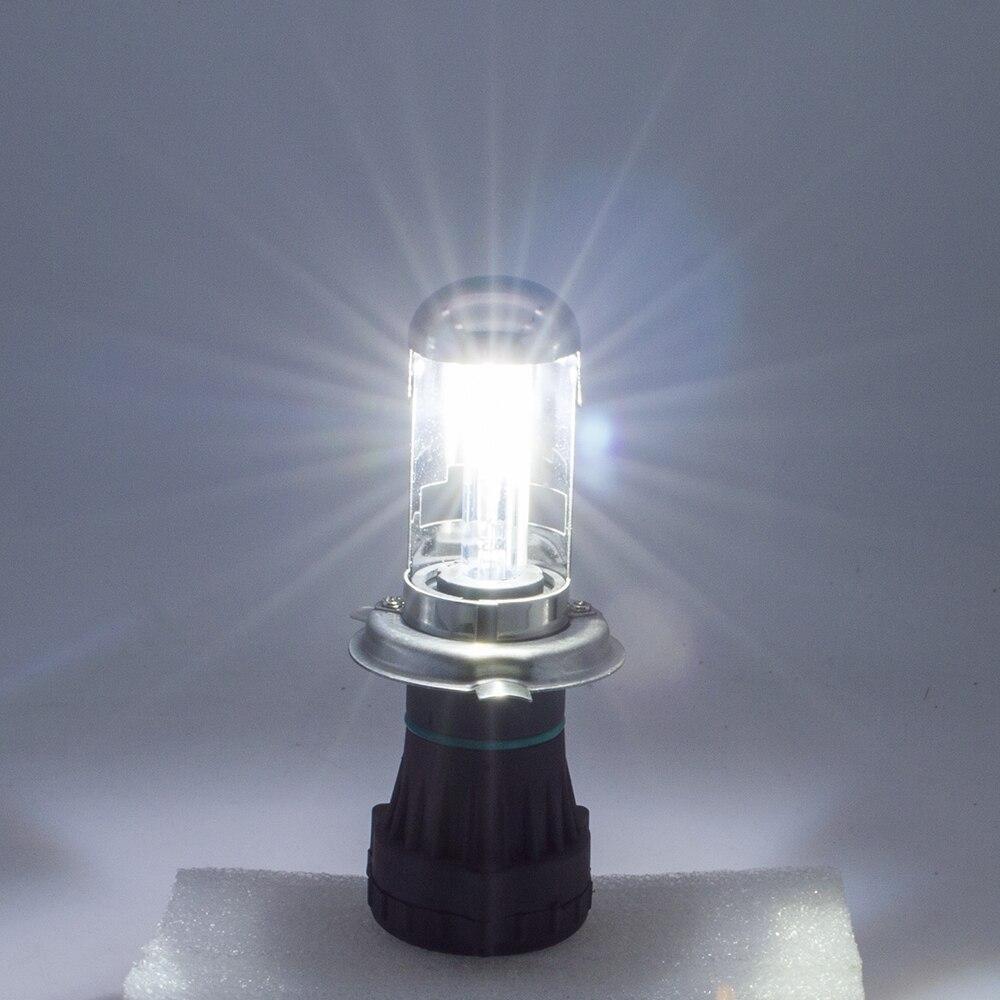 Ασφαλές AC 12v H4-3 bi-xenon HID H4 6000K 55W kit bixenon 55W - Φώτα αυτοκινήτων - Φωτογραφία 3