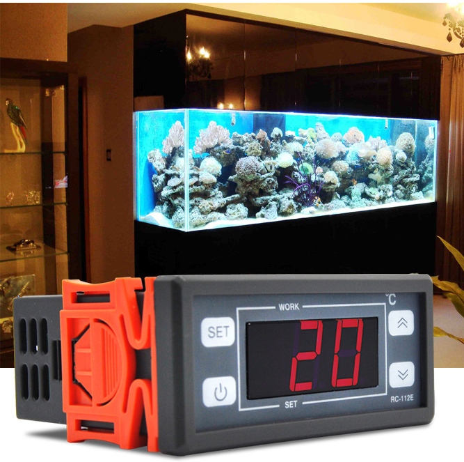 Aquarium Controller 10 Steps With Pictures: 250V 10A Digital Thermostat For Aquarium-in Temperature