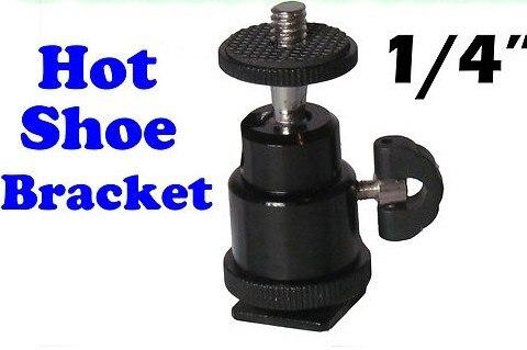 Стандартная S размер мини штатива 1/4 '' горячий башмак адаптер держатель для вспышки жк мониторов магии Arm металл