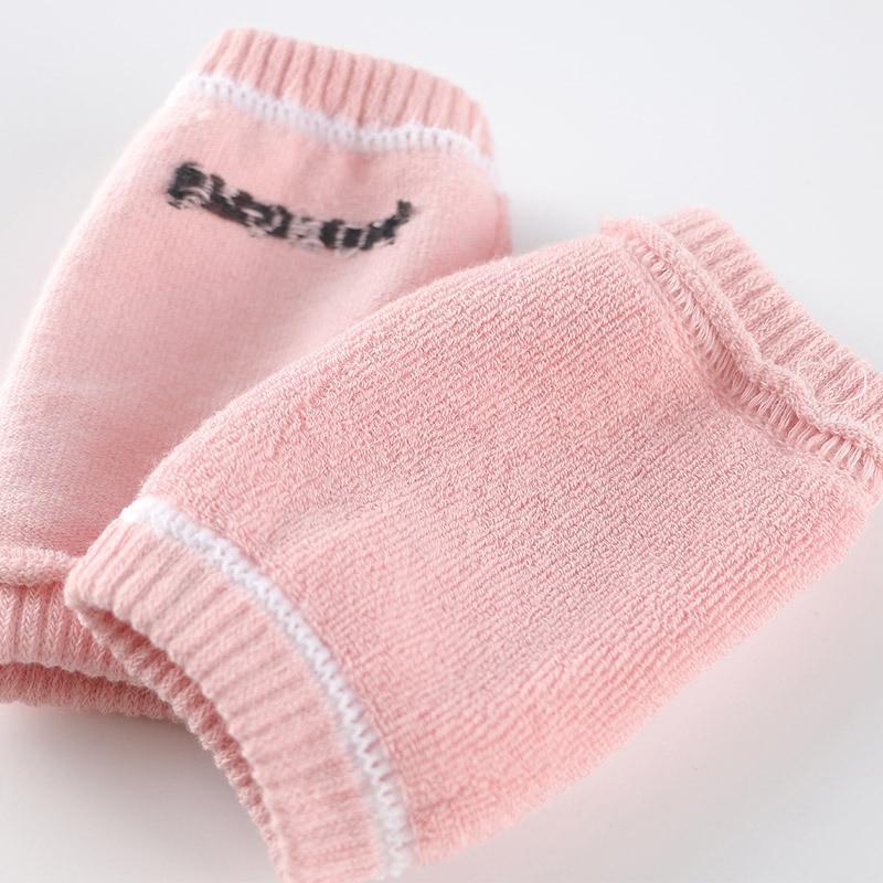 CN Одежда для малышей Интимные аксессуары ребенка ползать противоскольжения сохранить теплые Колено Защитная крышка малышей научиться Носки детские гетры