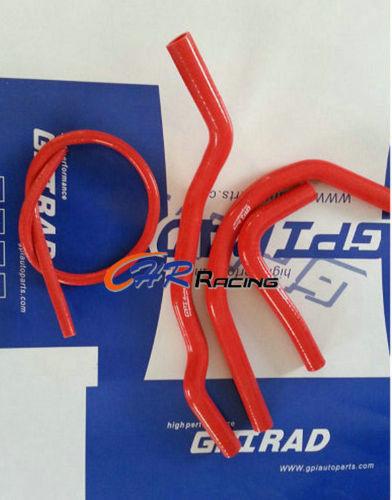 ATV YAMAHA Banshee 350 YFZ350 1982-2006 Silicone Radiator Hose RED