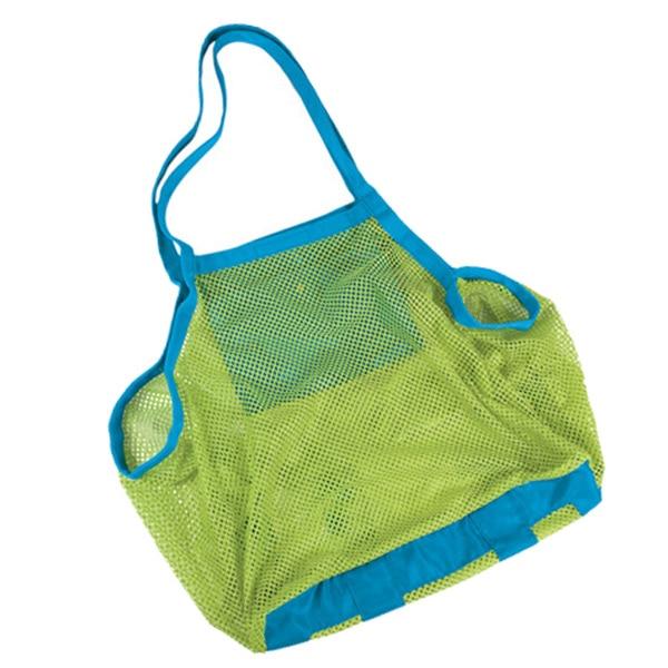 Пляжная сумка пляжная сумка в сеточку сумка коробка портативная переносная переноска игрушки Размер XL многоцветная
