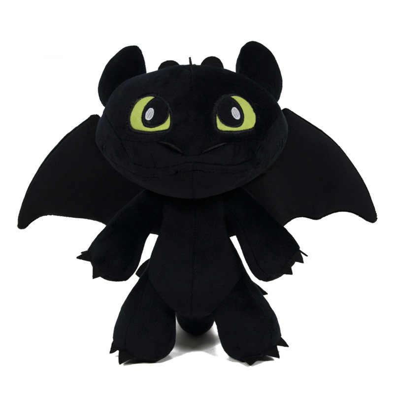 Anime Como treinar O Seu Dragão Desdentado Fúria Da Noite Figura de Ação Engraçado Algodão Boneca Dragão Adulto Criança Brinquedo Adereços de Decoração nova