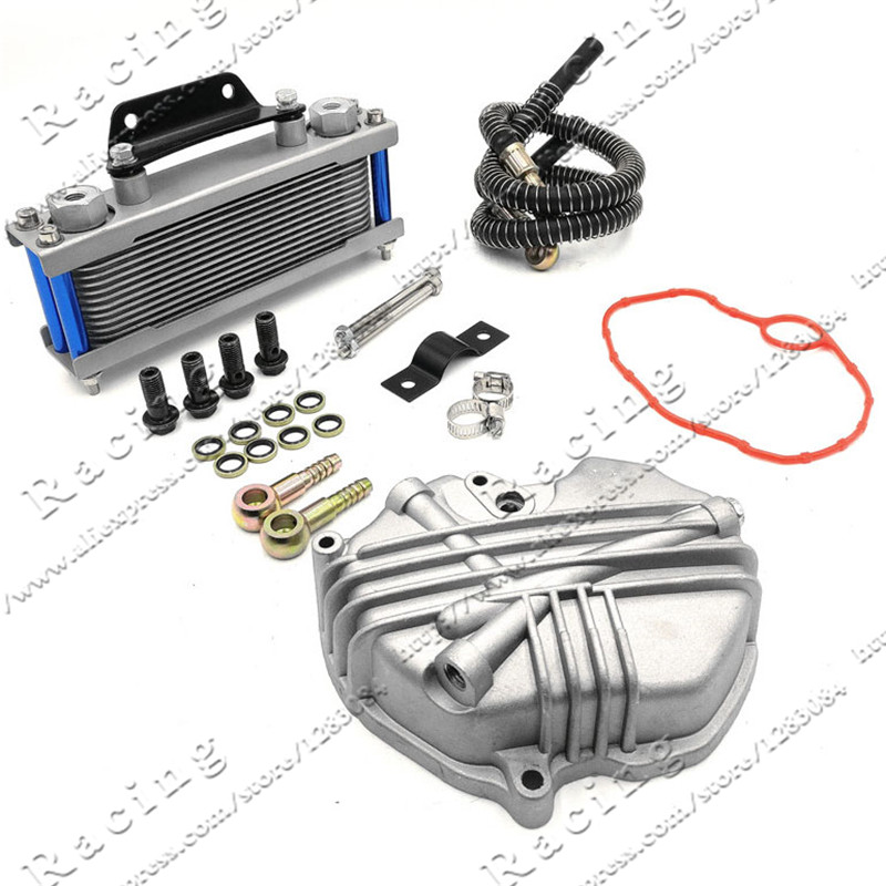Oil Cooler radiator Dirt Pit Bike Monkey Racing Motorcyle High performance refires accessories Kayo BSE Curved