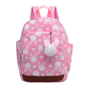 Cute baby kid girl school bag