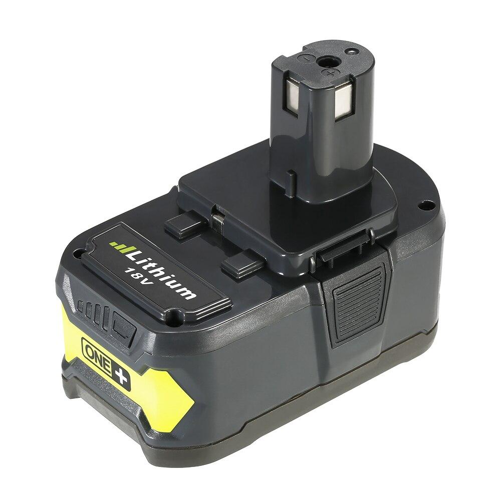 Meterk P108 18 В 4.0ah Механические инструменты Батарея высокое Ёмкость Перезаряжаемые замена литиевая Батарея пакет для Ryobi