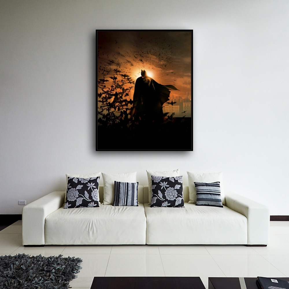 H2028 Batman Dark Knight Movie Villain Anime.HD Canvas Print Home ...