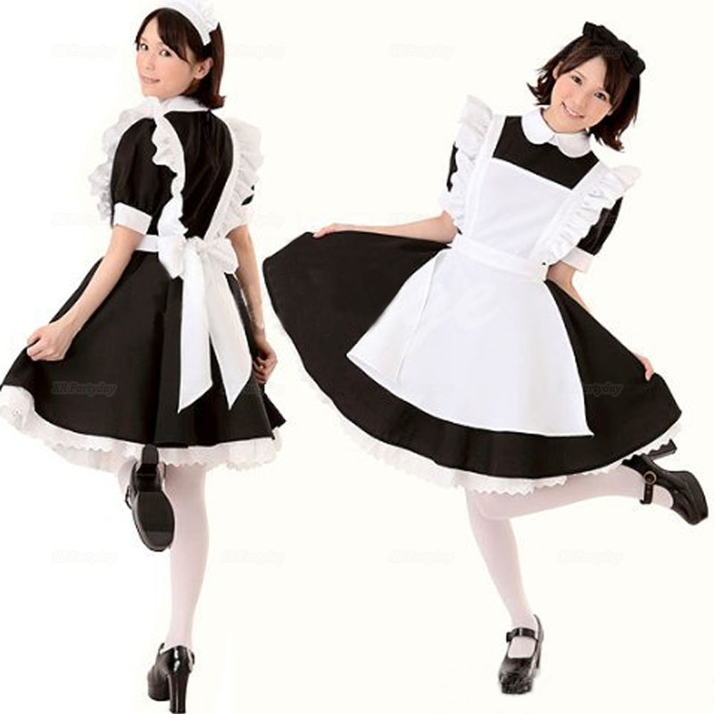 Anime <font><b>Sexy</b></font> Maid Dress <font><b>Halloween</b></font> Sissy cosplay costume <font><b>Adult</b></font> <font><b>Halloween</b></font> Costumes For <font><b>Women</b></font> image