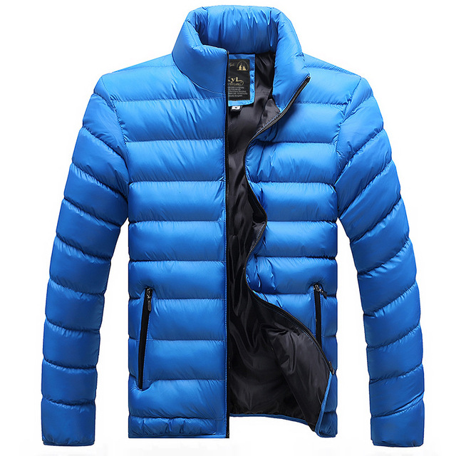 LBL Winter Autumn Jacket Men Windbreaker Solid Mens CoatStreetwear Windproof Zipper Overcoat Male Fashion Warm Parka Jackets Man