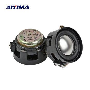 AIYIMA-Mini altavoces portátiles de Audio para ordenador, de 8 Ohm Altavoz portátil...