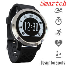 Smartch F69 Sprots Smart Watch Waterproof Swimming Heart Rate Monitor Pedometer Clock For IOS 8.0 Android 4.3 PK UC08
