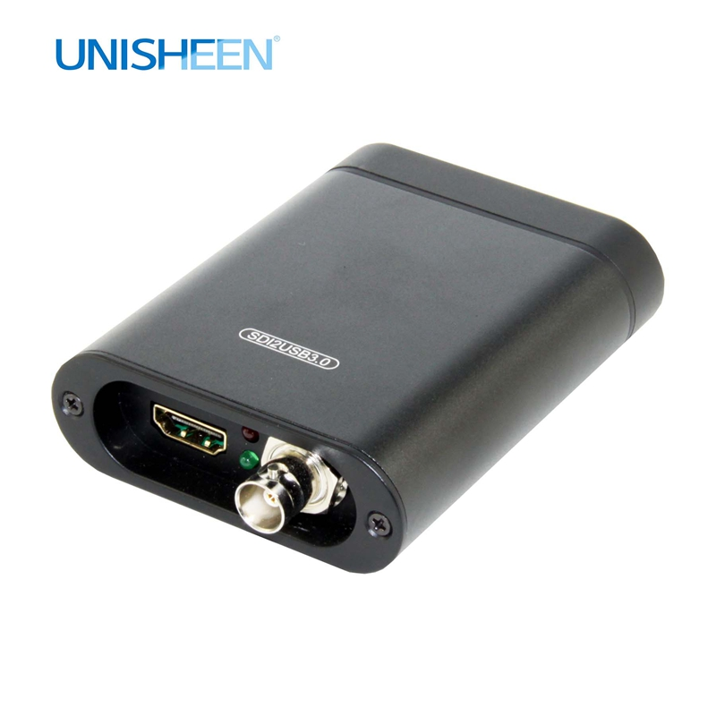 USB3.0 60FPS SDI HDMI VIDEO CAPTURE Box FPGA Grabber Dongle Game Streaming Live Stream Broadcast 1080P OBS VMix Wirecast Xsplit