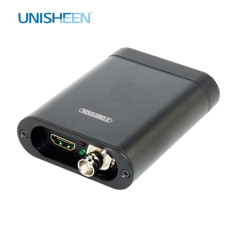 USB3.0 60FPS SDI HDMI boîte de CAPTURE vidéo FPGA Grabber jeu de Dongle diffusion en direct de flux 1080P OBS vMix Wirecast Xsplit
