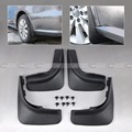 New Fresco Mud Flap Flaps Splash Guardas Guarda-lamas Mudflaps Defensas Para 2009 2010 2011 2012 VW Golf 6 MK6 Hatchback Preto 4 Pcs conjunto