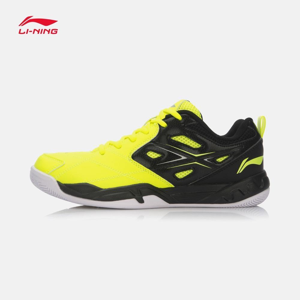 ФОТО Li-Ning Badminton Shoe AYTL059 Mens Athletic Lining Sports Training Shoes Breathable Anti-Slippery Hard Wearing Li Ning Sneakers