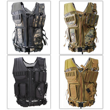 4 Colors Camouflage Mesh Military Tactical Hunting Vest Wargame Body Molle Armor Hunting Accessories Vest CS Outdoor Equipment new outlife camouflage hunting military tactical vest wargame body molle armor hunting vest cs outdoor jungle equipment