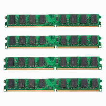 8GB 4X2GB DDR2-800MHz PC2-6400 240PIN DIMM Desktop Memory For AMD Motherboard