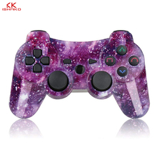 Bluetooth Controller For SONY PS3 Gamepad For Play Station 3 Wireless Joystick For Sony Playstation 3 PC SIXAXIS Controle original 3 colorful wireless bluetooth game controller for sony playstation 3 for ps3 controle joystick gamepad christmas