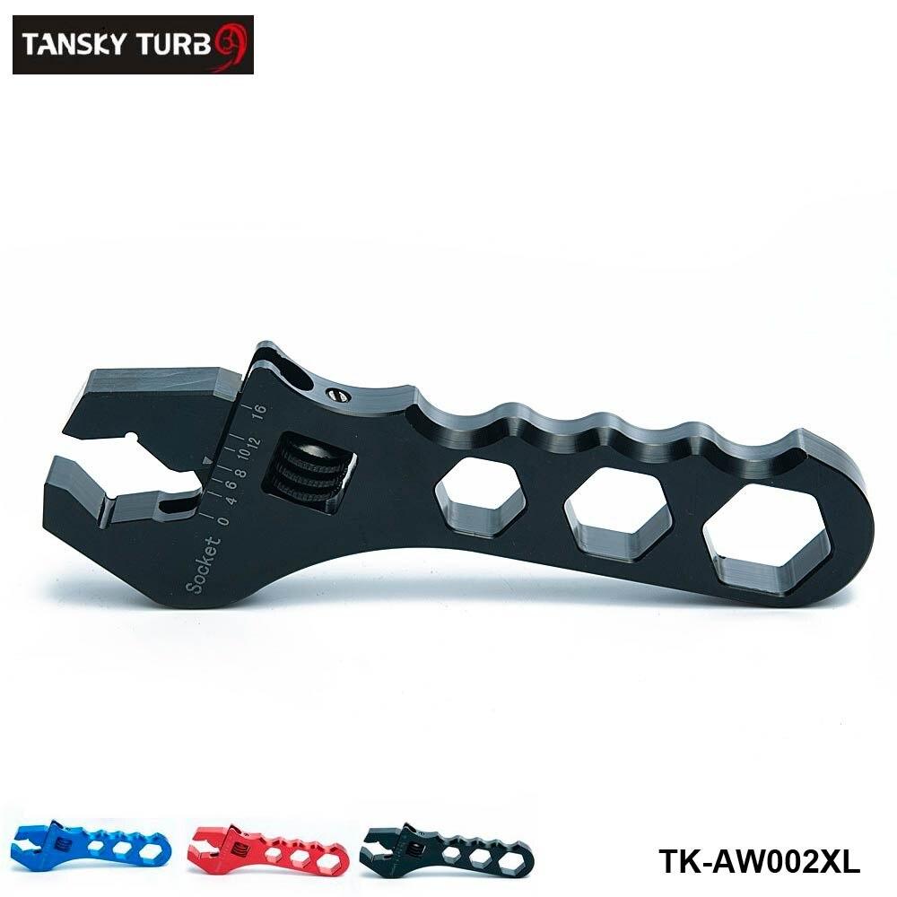 Réglable une clé tuyau raccord outil aluminium anodisé clé AN3-AN16 TK-AW002XL
