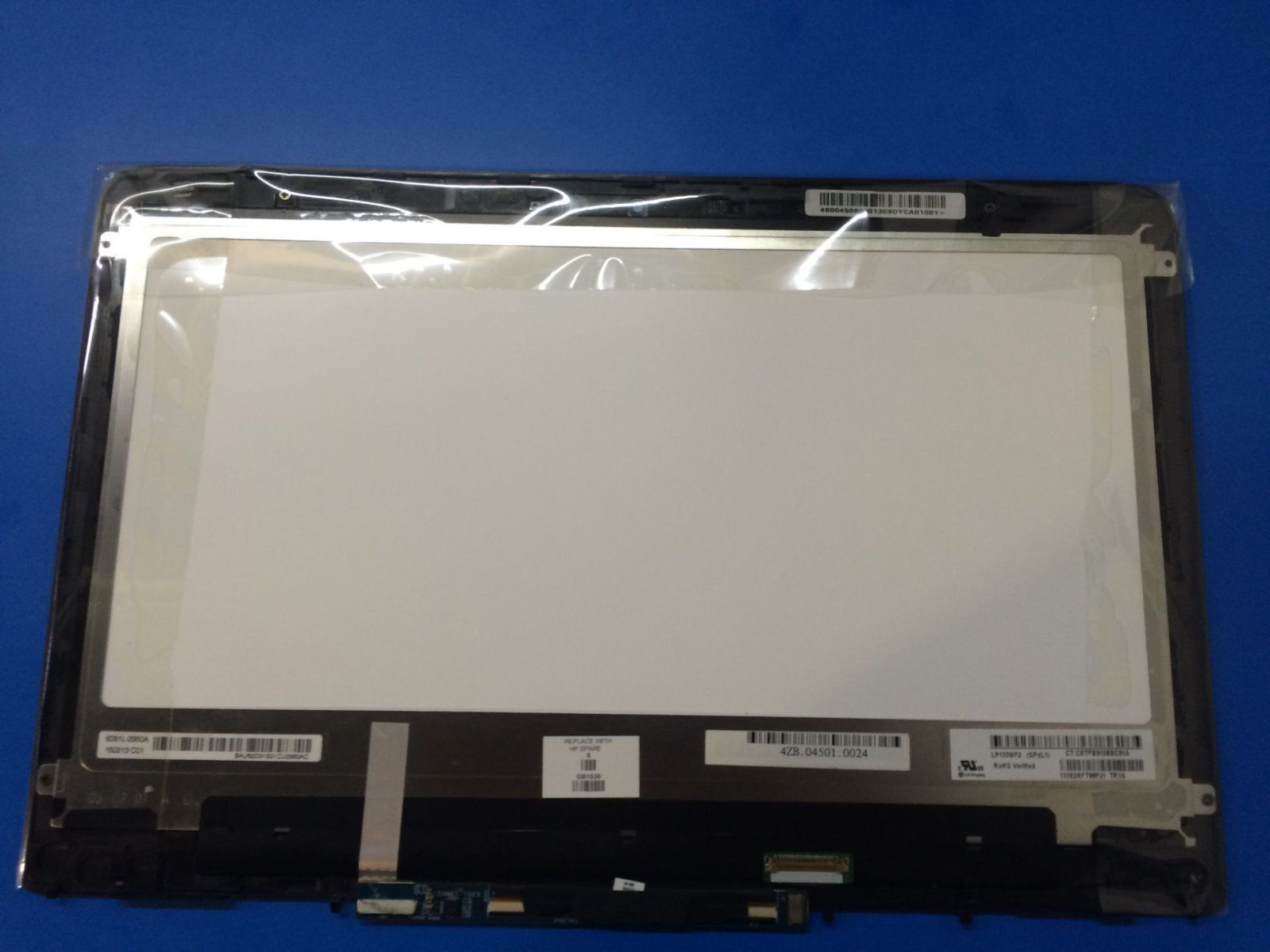 13.3 Touch Digitizer LCD Screen Assembly for HP Spectre X360 13-S060SA FHD LP133WF2-SPL1