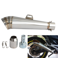 Motorcycle GP Exhaust Muffler Pipe For Honda Scooter ATV Kawasaki Z750 Z800 Z900 For Suzuki GSXR 750 1000 Yamaha MT09 For KTM