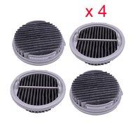 Aspirador de pó hepa chip filtro para xiaomi roidmi sem fio f8 f8e aspirador peças reposição acessórios