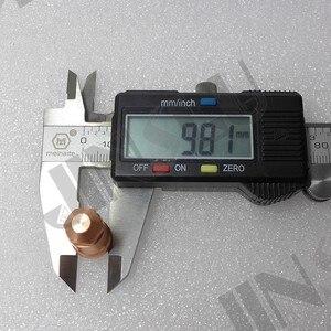Image 3 - Eletrodo 50 + 1.2 1.6 1.8 Ponta 50 YGX 100 YK 100 100A YGX 100103 YK 100102 Huayuan LGK 100 LGK 120 consumíveis Da Tocha De Plasma CNC