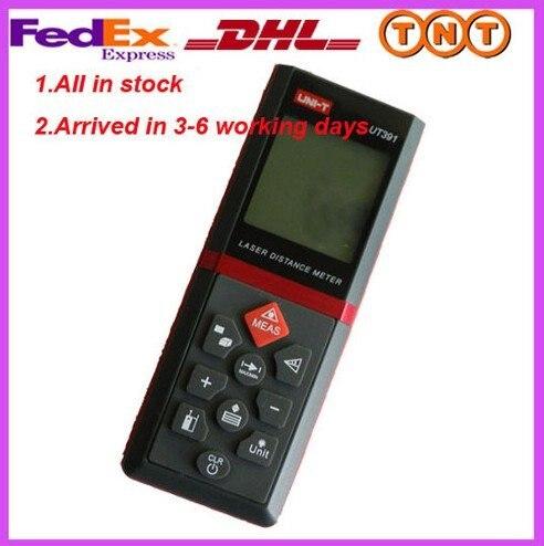 Laser Distance Meter Tester UT391 Range Finder Measure 0.1m-60meter/4in-197ft