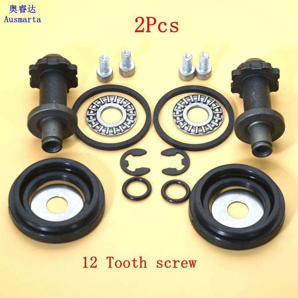 1-2 Pcs TRW 12 screw tooth brake motor For Sharan Tiguan Passat B7 CC B6 B7 A6 Q3 Seat Alhambra II 32332267 32332081A