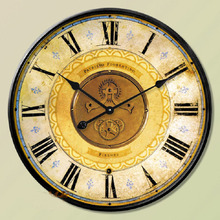 60CM Wall Clock Saat Clock Reloj Duvar Saati Horloge Murale Relogio de parede Vintage Digital Wall Clocks Watch Home decor