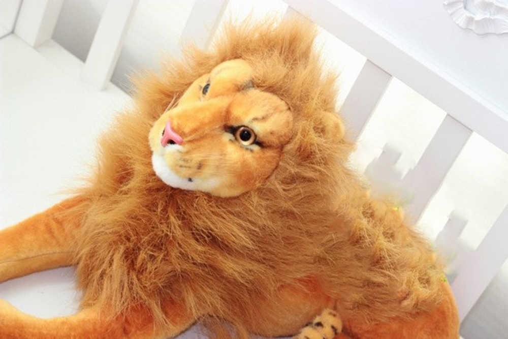 BOLAFYNIA çekim sahne peluş oyuncak aslan çocuk doldurulmuş oyuncak çocuklar için bebek peluş bebek oyuncakları doğum günü hediyesi