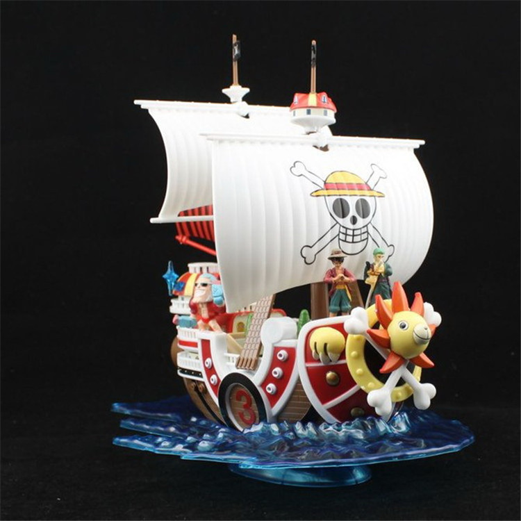 Free Shipping Anime 24cm One Piece Boutique Sonny Sunshine No. Thousand Sunny Pirate Ship For Boys Birthday Or Festival Gifts one piece doll figure thousand sunny going merry pirate ship model