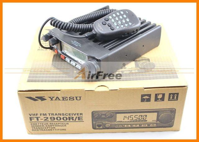 ORIGINAL YAESU FT-2900R Long Range Mobile Radio 75W High power Base Radio Station 3